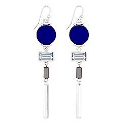 J by Jasper Conran - Designer crystal disc earrings