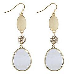 J by Jasper Conran - Designer multi shape drop earrings