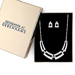 J by Jasper Conran - Designer pave link jewellery set