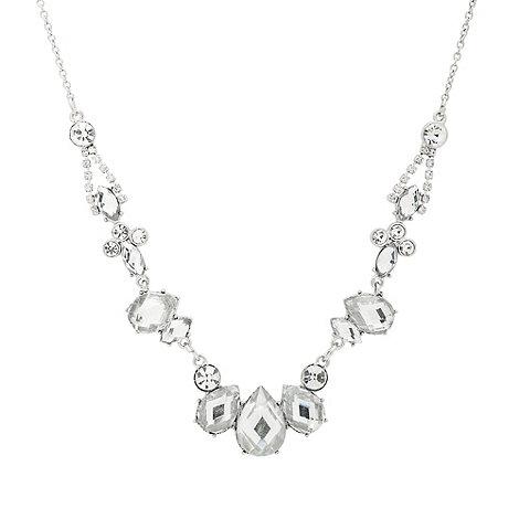 J by Jasper Conran - Vintage multi crystal stone set round necklace
