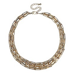 J by Jasper Conran - Designer multi link gold chain necklace