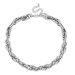 J by Jasper Conran - Designer silver chunky chain necklace