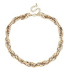 J by Jasper Conran - Designer gold chunky chain necklace