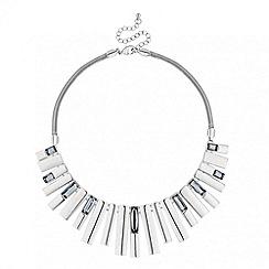 J by Jasper Conran - Designer baguette stone stick necklace
