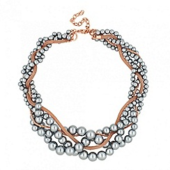 J by Jasper Conran - Designer pearl and chain twist necklace