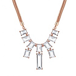 J by Jasper Conran - Designer graduated stick drop necklace
