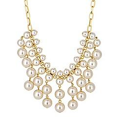J by Jasper Conran - Designer pearl shower statement necklace