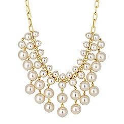 J by Jasper Conran - Designer pearl shower statement necklace