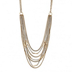 J by Jasper Conran - Designer web exclusive multi chain necklace