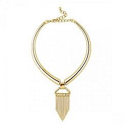 J by Jasper Conran - Designer web exclusive metal collar necklace