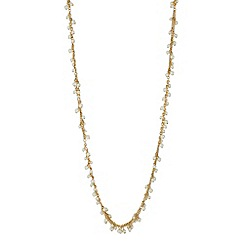 J by Jasper Conran - Designer long pearl chain cluster necklace
