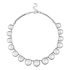 J by Jasper Conran - Designer round crystal stone necklace