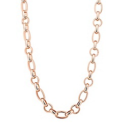 J by Jasper Conran - Designer rose gold chain link necklace