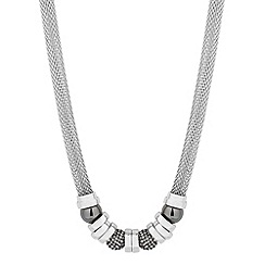 J by Jasper Conran - Designer hematite ball and polished disc necklace