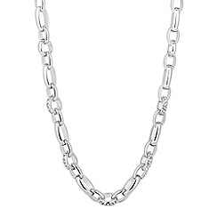 J by Jasper Conran - Designer crystal link chain necklace