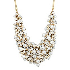 J by Jasper Conran - Designer statement pearl and crystal necklace