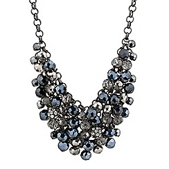 J by Jasper Conran - Facet bead and pave shaker necklace