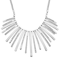 J by Jasper Conran - Designer crystal embellished stick necklace