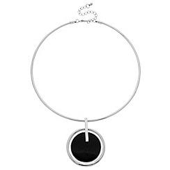 J by Jasper Conran - Designer jet enamel torque necklace