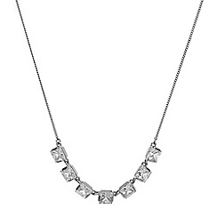 J by Jasper Conran - Cubic zirconia classic necklace