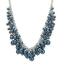J by Jasper Conran - Designer teal pearl shaker necklace