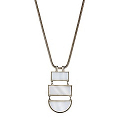 J by Jasper Conran - Designer pearl multi shape necklace