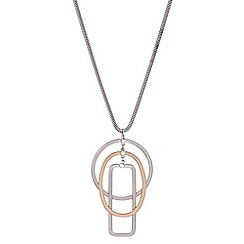 J by Jasper Conran - Designer crystal multi shape necklace