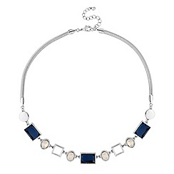 J by Jasper Conran - Designer multi shape crystal necklace