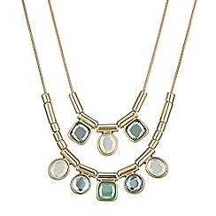 J by Jasper Conran - Ocean tonal crystal necklace