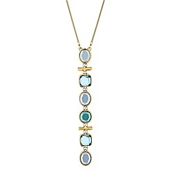 J by Jasper Conran - Ocean tonal crystal necklace