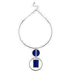 J by Jasper Conran - Geometric statement necklace