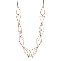 J by Jasper Conran - Designer geometric rope necklace