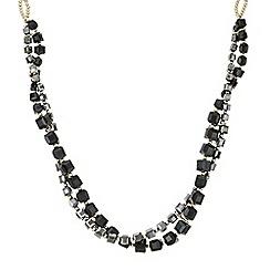 J by Jasper Conran - Designer square facet bead twist necklace