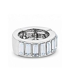 J by Jasper Conran - Designer baguette stone stretch ring