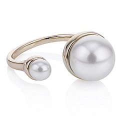 J by Jasper Conran - Designer gold capped pearl ring