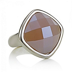 J by Jasper Conran - Designer square crystal ring