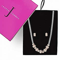J by Jasper Conran - Great value designer rose gold crystal disc set