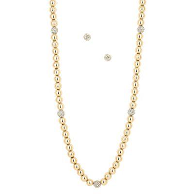 J by Jasper Conran Designer crystal and polished gold ball