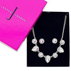 J by Jasper Conran - Designer great value crystal teardrop jewellery set