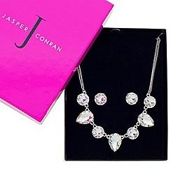 J by Jasper Conran - Designer great value crystal teardrop jewellery set