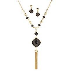 J by Jasper Conran - Designer semi precious stone effect jewellery set