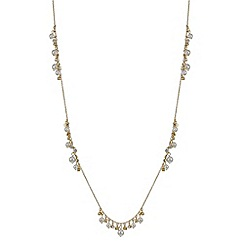 J by Jasper Conran - Designer gold crystal and pearl necklace and earring set