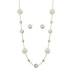 J by Jasper Conran - Designer pearl and circle jewellery set