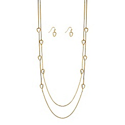 J by Jasper Conran - Designer pebble jewellery set