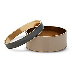 J by Jasper Conran - Designer set of two enamel bangles