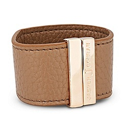 J by Jasper Conran - Designer online exclusive magnetic tan cuff