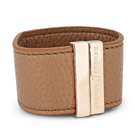 J by Jasper Conran - Designer online exclusive magnetic tan cuff