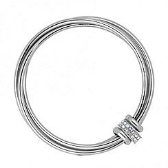 J by Jasper Conran - Designer crystal circle bangle set
