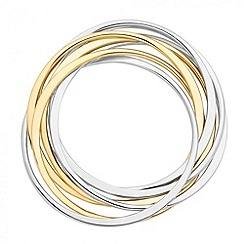 J by Jasper Conran - Designer mixed metal linked bangles