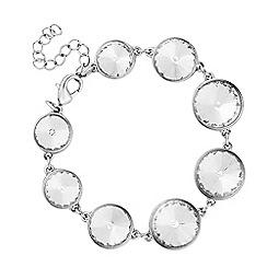 J by Jasper Conran - Designer round crystal stone bracelet